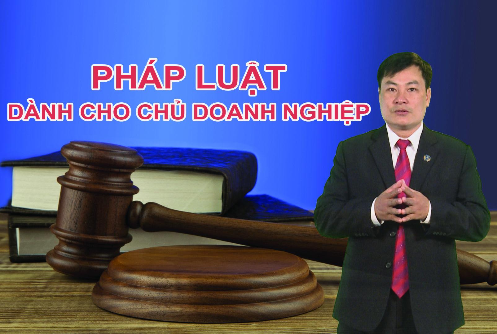 Pháp luật dành cho Chủ doanh nghiệp